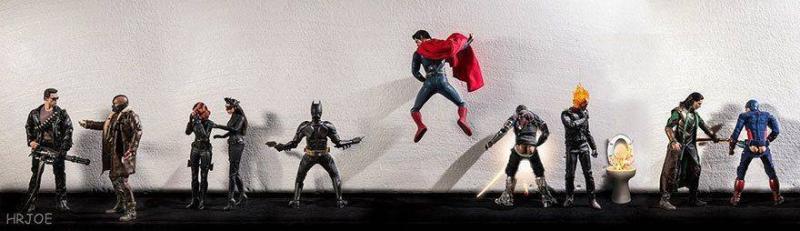 Супергерои, они такие же как мы с вами