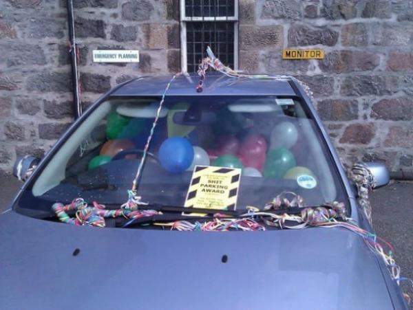 20 водителей, которым тонко намекнули, что парковка - не их конек.
