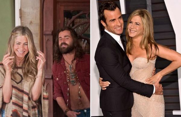20 знаменитых сладких парочек, которые не заметили, как влюбились друг в друга во время съемок.