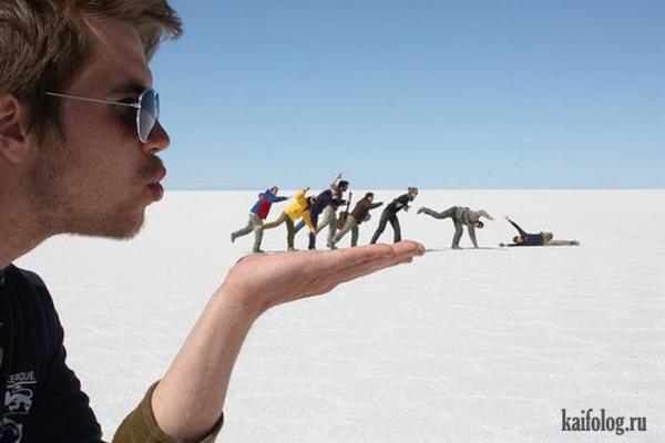 Оптические иллюзии. Часть 1