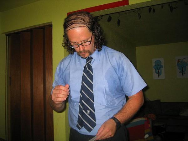 Крутые причёски для лысеющих ребят (18 фото)