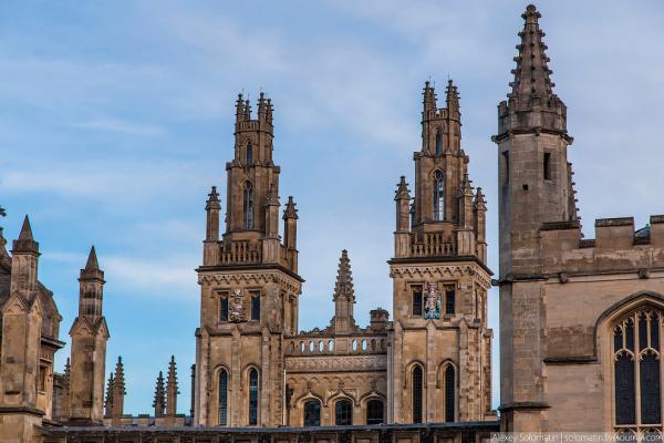 Прогулка по Оксфорду (38 фото)