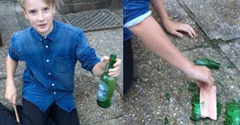 Этот мальчик обнаружил в бутылке ''Худшее в мире послание'', написанное ребятами, принимающими коkаин!