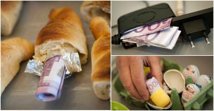 Где контрабандисты прячут деньги
