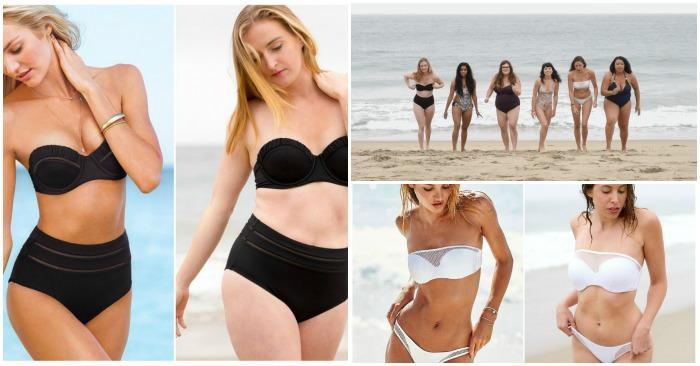 Обычные женщины примерили купальники Victoria's Secret, и вот что из этого вышло