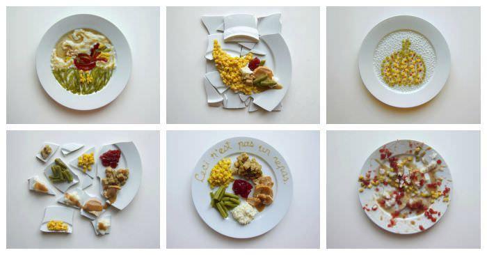 Как бы выглядел ваш обед, если бы его приготовили знаменитые художники в фотографиях Ханны Ротштейн (Hannah Rothstein)