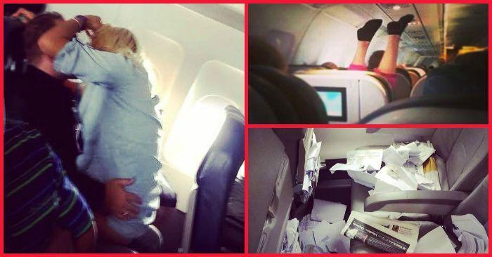 Бывшая стюардесса выкладывает фотографии самых отвратительных пассажиров самолетов (26 фото)