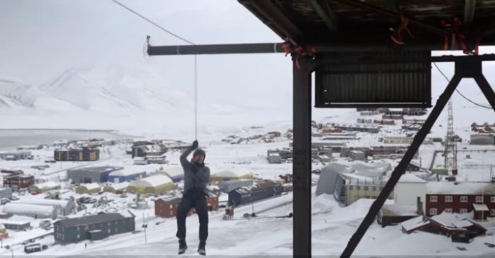 Норвежский физик Andreas Wahl рискнул своей жизнью, для того чтобы провести один из самых безбашенных экспериментов в области физики.