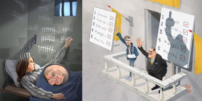 Дуэт художников иллюстрирует шокирующую реальность современного общества