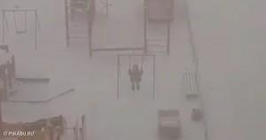 Вот где сейчас настоящая зима