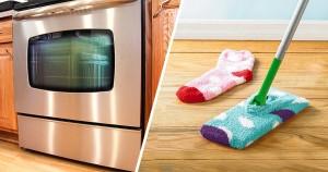 20 хитростей, которые сэкономят кучу времени при уборке
