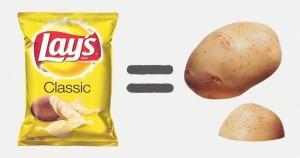 Как выглядели наши любимые продукты до того, как их собрали