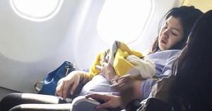 Авиакомпания сделала невероятный подарок девочке, которая родилась на борту самолета