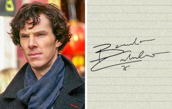 Посмотрите на 15 необычных автографов знаменитостей