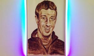 Портрет Марка Цукерберга из...