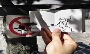 Нарисованный друг Эликс художника Yacine Ait Kaci