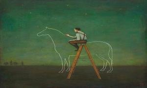 Поэтические Акриловые Картины от Зуй Huynh