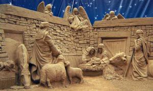 Невероятные скульптуры из песка от Ray Villafane