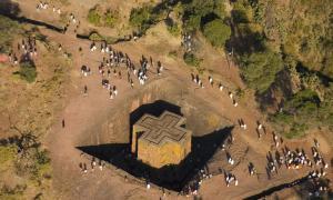 Удивительная церковь Святого Георгия в Эфиопии