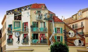 «Умный» стрит-арт от Патрика Коммеси