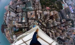 Экстремальные и завораживающие фотографии Гонконга