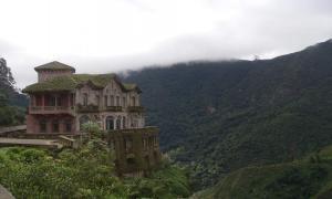 Заброшенный отель в Колумбии