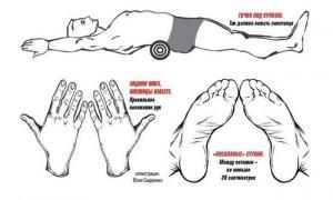 Как выпрямить спину и  убрать живот  за пять минут в день