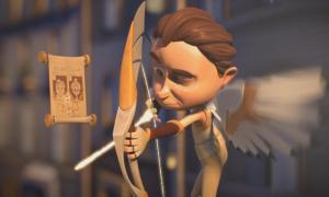 Мультфильм дня: Трудная работенка Купидона
