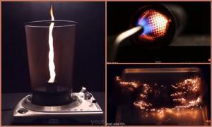10 крутейших экспериментов с огнем!