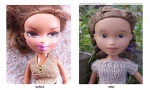 Куклы без макияжа