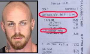 Заложников спасло приложение Pizza Hut