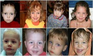 28 озорных ребятишек до и после усыновления.