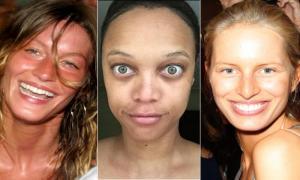 Супермодели без макияжа