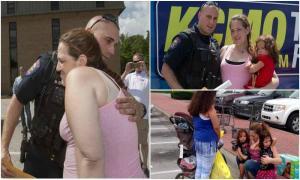 Вместо ареста воровки этот полицейский сделал то, чего никто не ожидал