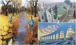 25 невероятных оптических иллюзий