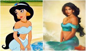 Вот как диснеевские принцессы выглядели бы в реальной жизни