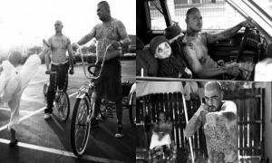 Житье членов мексиканской банды в Калифорнии (17 фото)