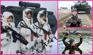 Девушки из армии Казахстана (31 фото)