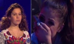 Эта девочка из Украины произвела фурор на немецком «Голос. Дети». Реакция судей говорит сама за себя...