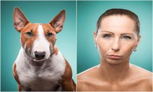 Фотопроект: сравнение собак и их хозяев.