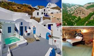12 уникальных домов в пещерах, в которых встречаются прошлое и будущее