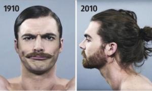 Как изменились стандарты мужской красоты за последние сто лет