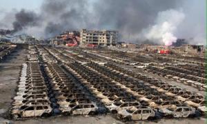 В Китае сгорело 10 000 новых автомобилей