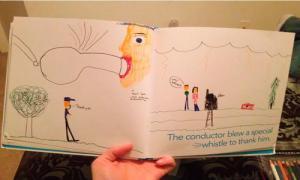 12 невинных рисунков, которые нарисовали дети.