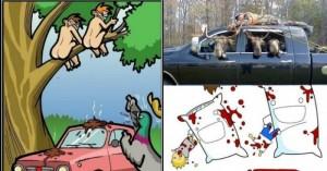 Эти иллюстрации наглядно показывают, как бы выглядел наш мир, если бы все было наоборот. (Часть 2)