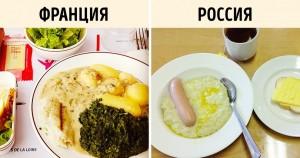 Чем кормят детей в школах по всему миру