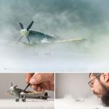 Большие фотографии маленькими игрушками