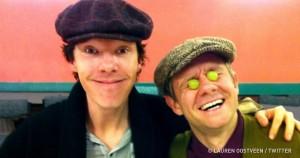 26 забавных кадров о том, что творится на съемках наших любимых сериалов